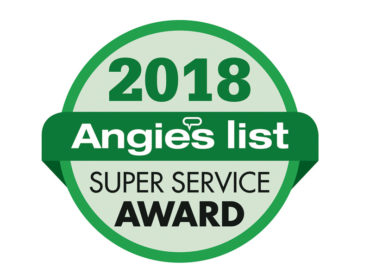 Tri County Windows and Siding Earns Esteemed 2018 Angie's List Super Service Award